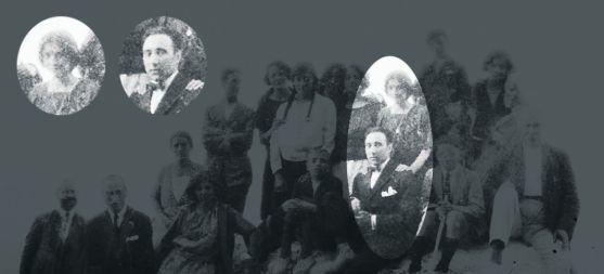 La imagen descubierta en Ágreda donde se atribuye la presencia de Machado y Leonor. /CET