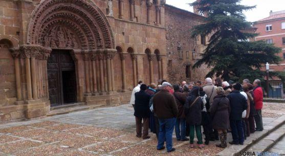 Imagen de archivo de turistas en Soria./SN