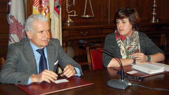 Ana Alegre y Francisco Villalobos./Ayto.