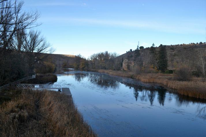 Imagen del río Duero a su paso por la capital soriana./SN