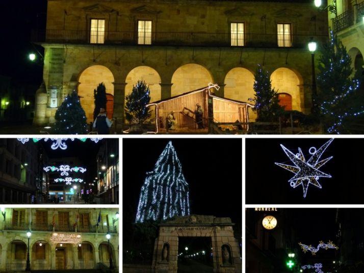 Las luces de Navidad en la capital. SN