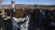 El arca a su llegada al paraje 'Canto gordo'. /SN