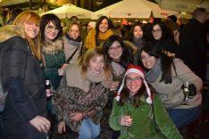 Champanada en Herradores para celebrar el nuevo año. /SN
