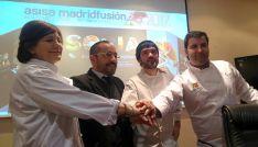 Melania Cascante, Luis Rey, Óscar García y Juan Carlos Benito. /M-Audiovisuales