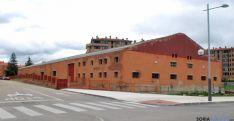 Imagen de la trasera del parque de maquinaria. /SN