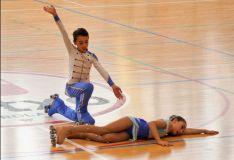 Los jóvenes patinadores sorianos, Héctor y Ángela Díez Severino