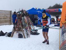 Triatlon de invierno celebrado en Vinuesa. / Triatlon C-L