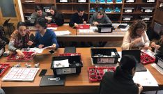 Los profesores en su formación./CSCS