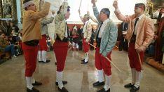 Imágenes de las danzas de paloteo/ SN