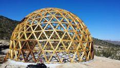 Construirán una cúpula geodésica.