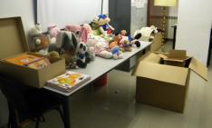 Entrega de juguetes/ SN