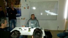 Un momento del curso con Pablo Castro.