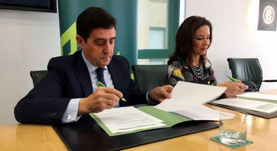 Carlos Martínez Izquierdo y Raquel Martínez. /CRS