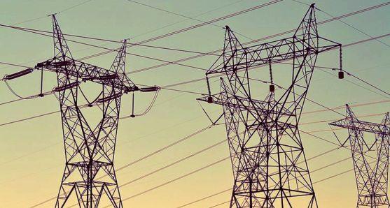 Torres de alta tensión eléctrica. /SN