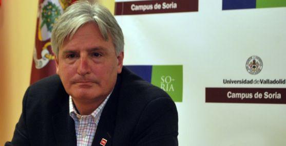 Joaquín García-Medall, este viernes en el Campus Duques de Soria. /SN
