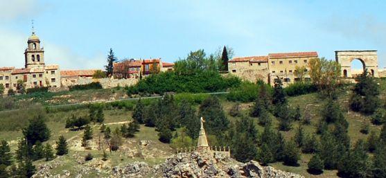 Vista de Medinaceli. /SN