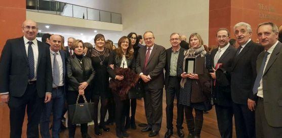 Premiados, nominados y representantes de la Gerencia. /Jta.
