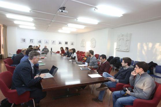 Reunión en la UVa de las cuatro universidades del proyecto uban-Hist/ UVa