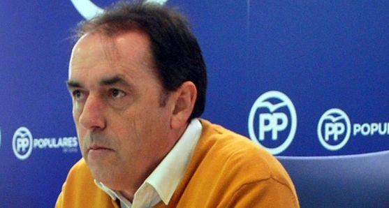 Benito Serrano este pasado jueves en rueda informativa. /SN