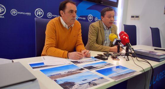 Serrano y Sainz este jueves en rueda de prensa. /SN