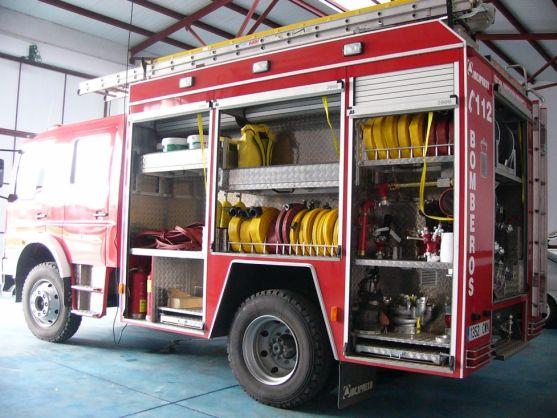 Parque comarcal de bomberos de Ólvega.
