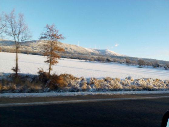 Imagen del paisaje desde la N-122, en dirección a Ágreda. /SN