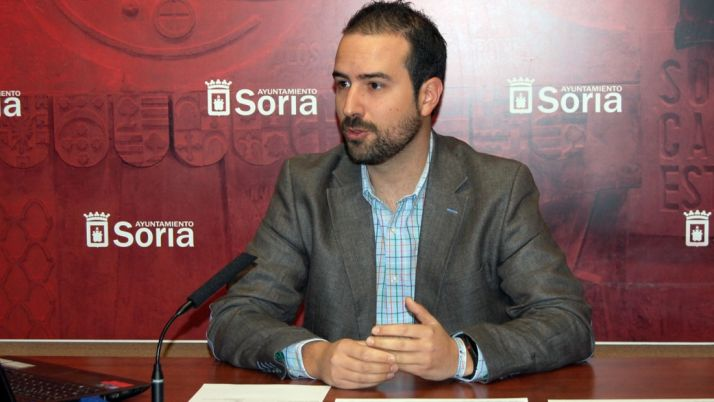 Angel Hernández, concejal de Deportes de la capital. /Ayto.