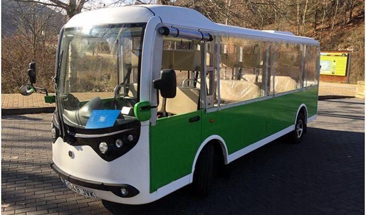 El minibús se presenta este viernes.