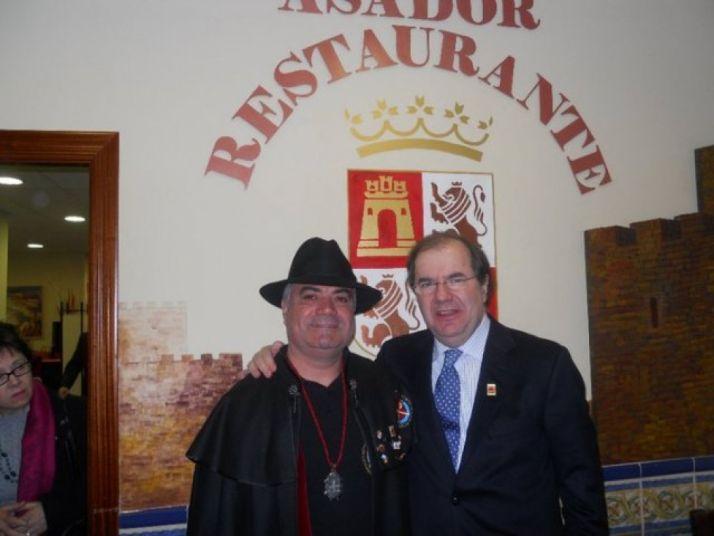 Herrera en la Casa de León en Sevilla.