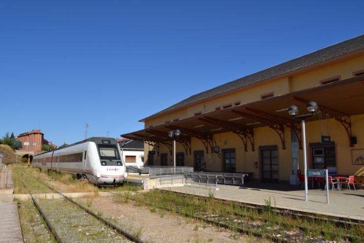 Estación del tren de Soria/ SN