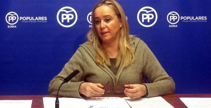 Mª José Fuentes, viceportavoz del PP en el Ayuntamiento capitalino.