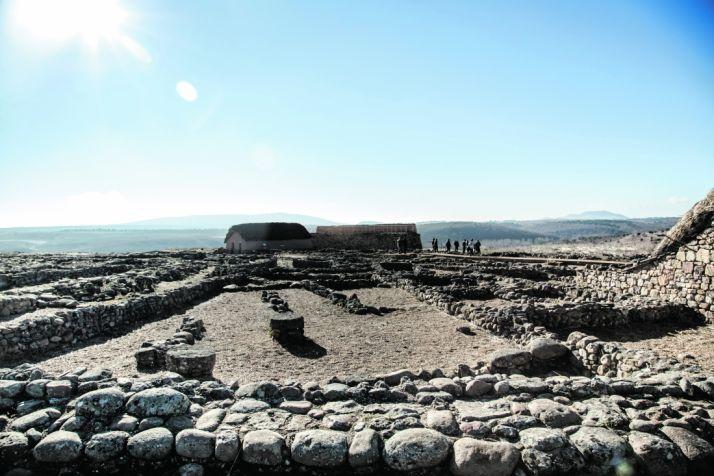 Imagen del yacimiento de Numancia en la localidad de Garray/ DAVID ALMAJANO
