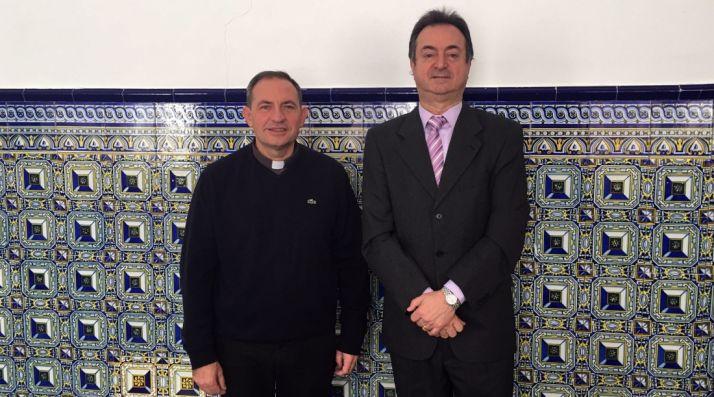 El obispo y el alcalde burgense./ABO