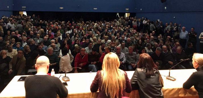 Imagen de una asamblea socialista. /Primarias y Congreso Ya