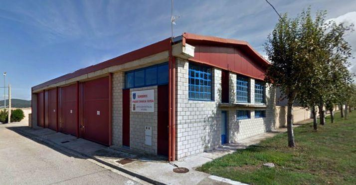 Parque de bomberos de Ólvega. /SN