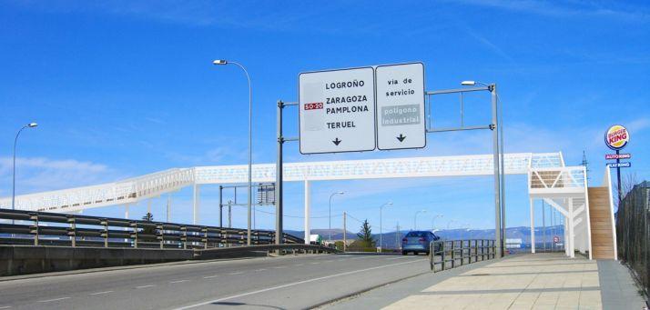 Proyecto de la pasarela elaborado por el Ayuntamiento de Golmayo.