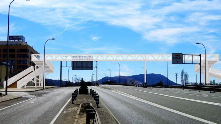El proyecto de la pasarela./AytoGolmayo
