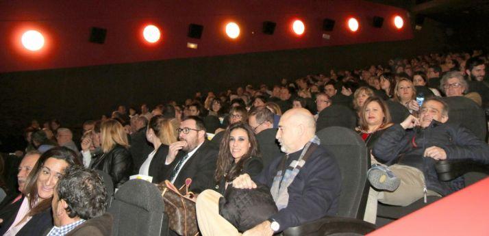 300 personas en el estreno del filme en Soria. /CCM