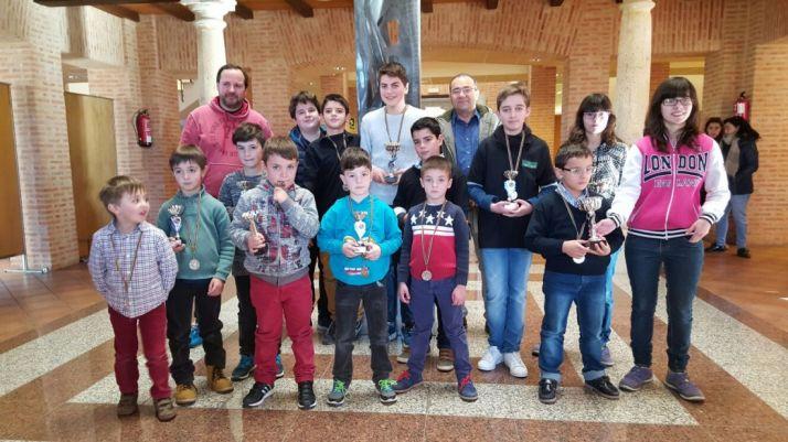 Participantes del XII Torneo de Ajedrez Villa de Almazán
