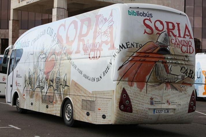 Bibliobús de Soria.