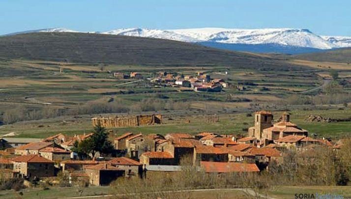 Pueblos en Tierras Altas de Soria.