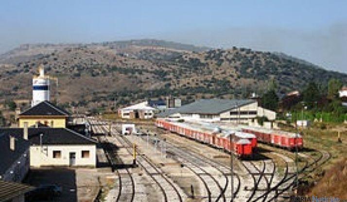 Estación de tren de la ciudad de Soria. /SN