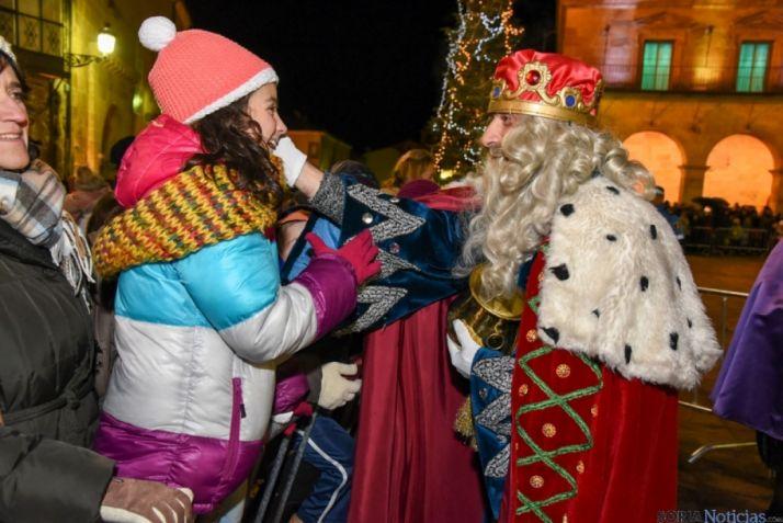 La ilusión, en la Noche de Reyes./SN