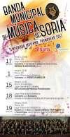 Calendario con los conciertos.