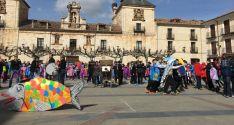 La plaza Mayor este mediodía.