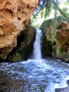 Imagen del río Val aguas abajo de la EDAR. /ASDEN