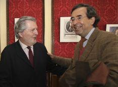 Íñigo Méndez de Vigo con Amalio de Marichalar.
