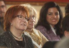 La periodista Rosa Villacastín estuvo en el acto a Machado.