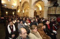 Imagen de la jornada festiva este jueves en San Leonardo. /SN