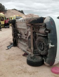 Imagen del vehículo siniestrado. /Dip